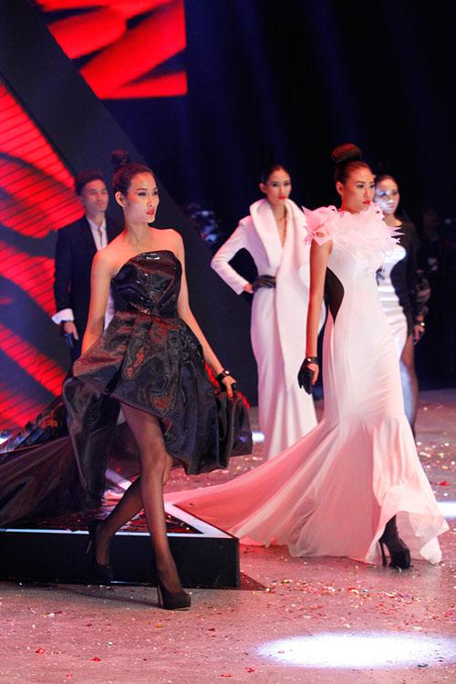 Dàn Top Model hội ngộ trong đêm chung kết - 1