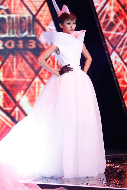 Dàn Top Model hội ngộ trong đêm chung kết - 14