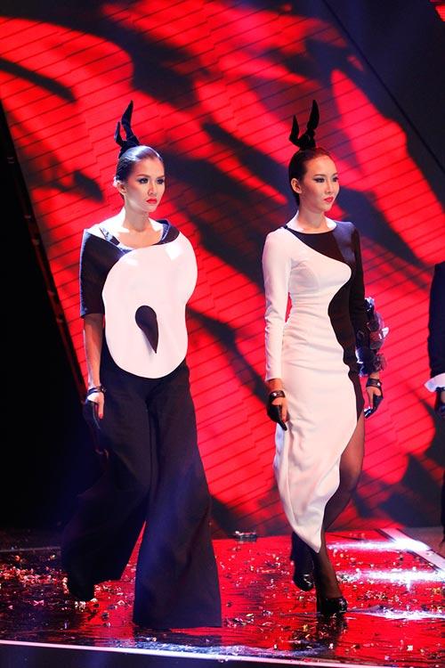 Dàn Top Model hội ngộ trong đêm chung kết - 7