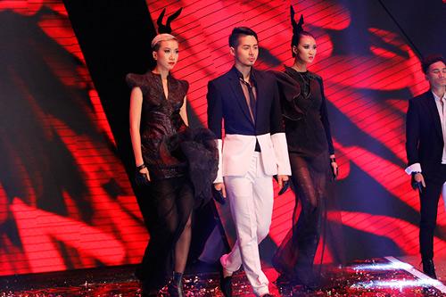 Dàn Top Model hội ngộ trong đêm chung kết - 5