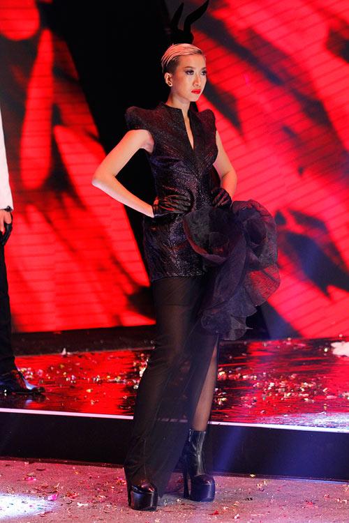 Dàn Top Model hội ngộ trong đêm chung kết - 13