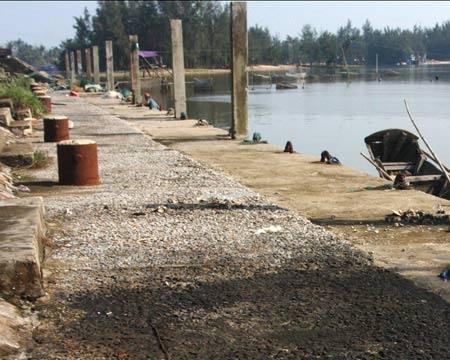 Cảng cá 29 tỷ đồng bị bỏ hoang - 1