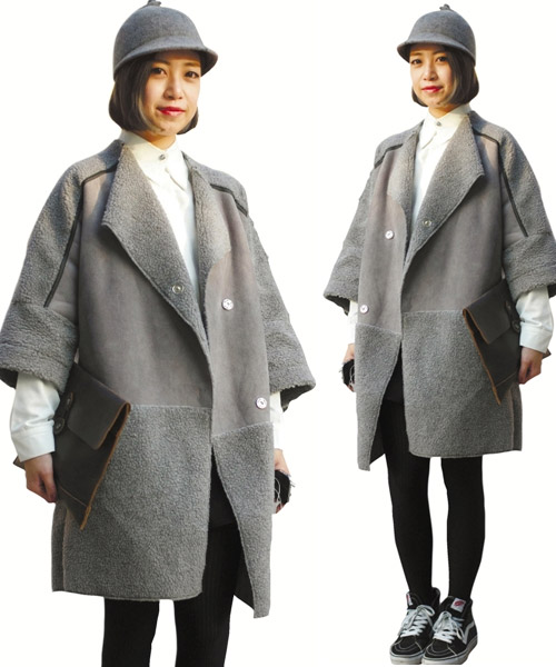 Áo khoác dạ xinh đẹp trên phố Hong Kong - 11