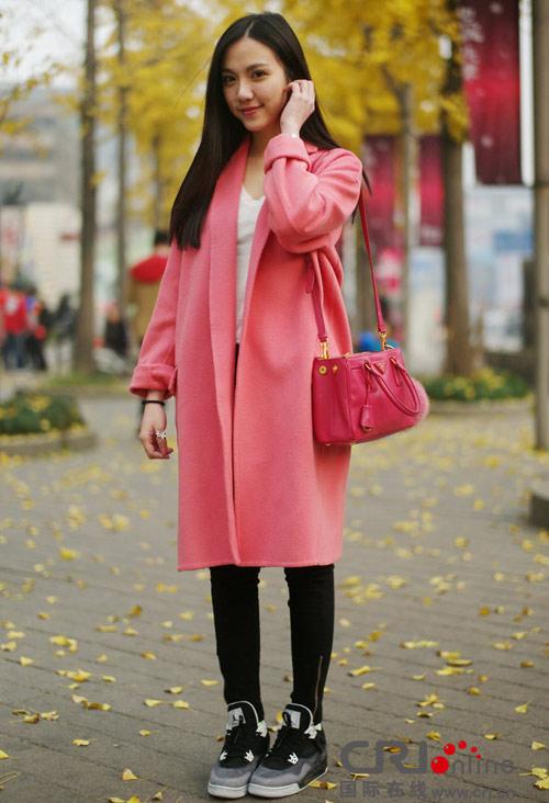 Áo khoác dạ xinh đẹp trên phố Hong Kong - 2