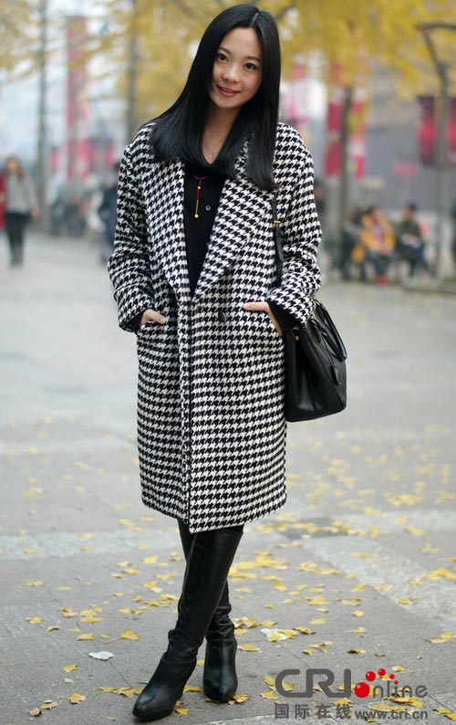Áo khoác dạ xinh đẹp trên phố Hong Kong - 5