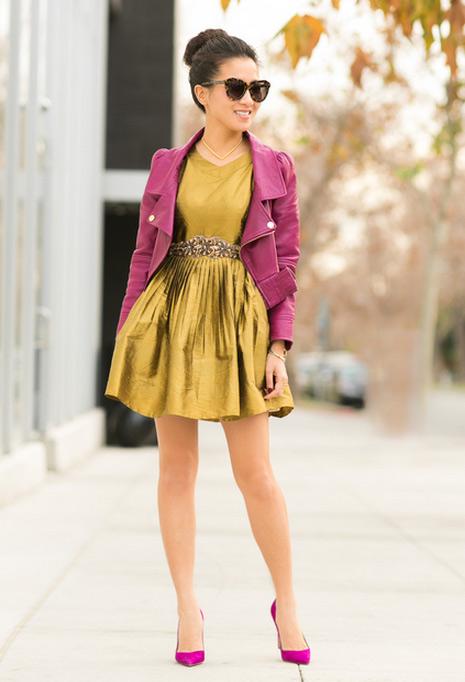 Cô gái Việt mồ côi nổi tiếng nhờ mặc đẹp - 11