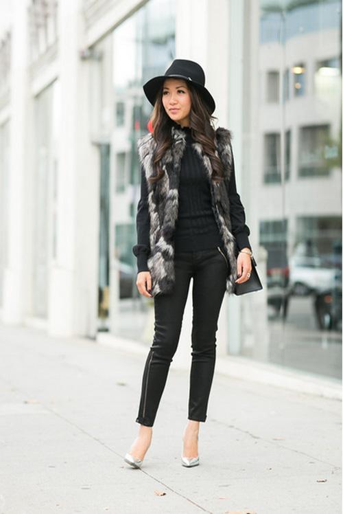 Cô gái Việt mồ côi nổi tiếng nhờ mặc đẹp - 15