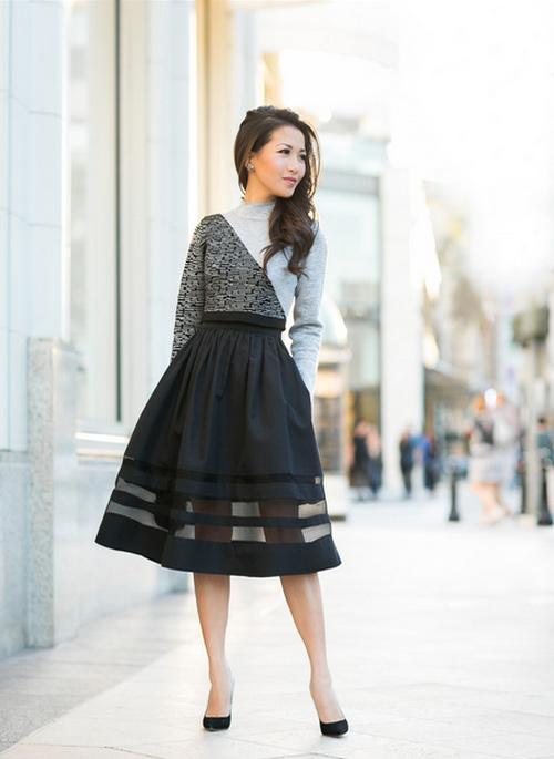 Cô gái Việt mồ côi nổi tiếng nhờ mặc đẹp - 3
