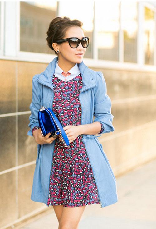Cô gái Việt mồ côi nổi tiếng nhờ mặc đẹp - 18