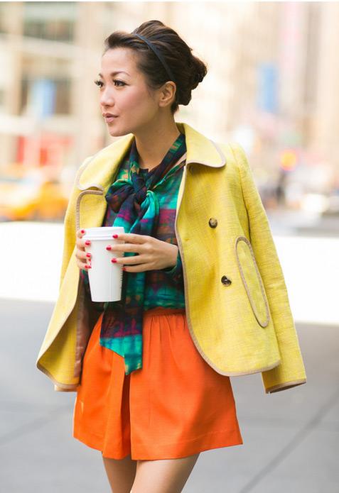 Cô gái Việt mồ côi nổi tiếng nhờ mặc đẹp - 20