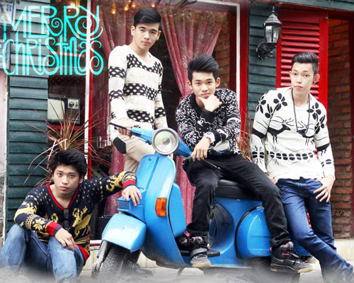 Áo len rẻ, đẹp thu hút bạn trẻ Việt - 1