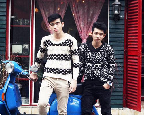 Áo len rẻ, đẹp thu hút bạn trẻ Việt - 11