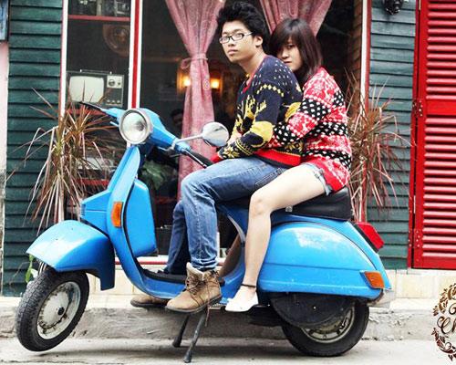 Áo len rẻ, đẹp thu hút bạn trẻ Việt - 2