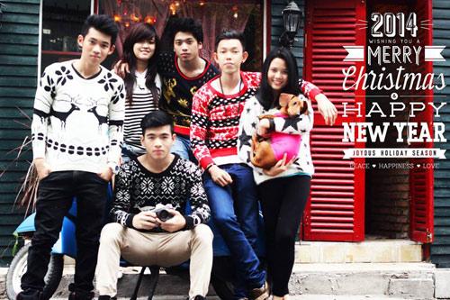 Áo len rẻ, đẹp thu hút bạn trẻ Việt - 8