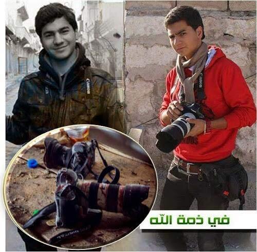 """Syria: """"Phóng viên chụp ảnh tử thần"""" thiệt mạng - 1"""