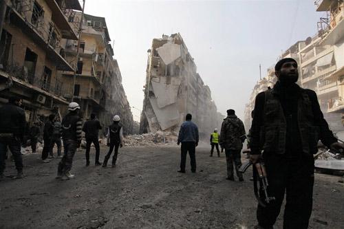 """Syria: """"Phóng viên chụp ảnh tử thần"""" thiệt mạng - 3"""