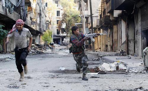 """Syria: """"Phóng viên chụp ảnh tử thần"""" thiệt mạng - 5"""
