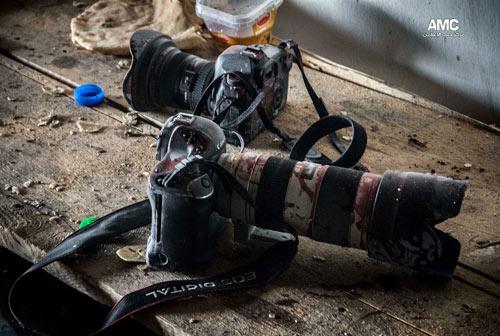 """Syria: """"Phóng viên chụp ảnh tử thần"""" thiệt mạng - 2"""