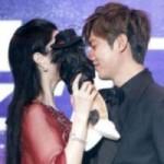 """Ngôi sao điện ảnh - Phạm Băng Băng bất ngờ """"chạm môi"""" Kim Tan"""