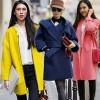 Áo khoác dạ xinh đẹp trên phố Hong Kong