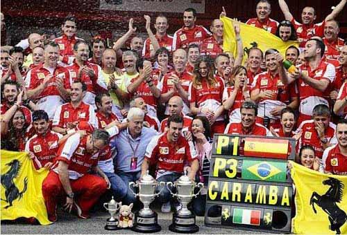 F1: Ferrari và Alonso khát khao chiến thắng - 1