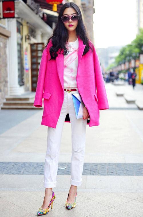 Áo khoác dạ xinh đẹp trên phố Hong Kong - 10