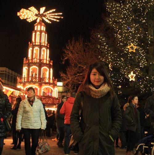 Miss Teen Thu Trang đón giáng sinh ở Đức - 3