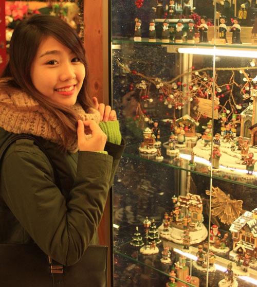 Miss Teen Thu Trang đón giáng sinh ở Đức - 4