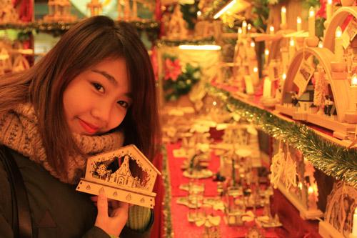 Miss Teen Thu Trang đón giáng sinh ở Đức - 5