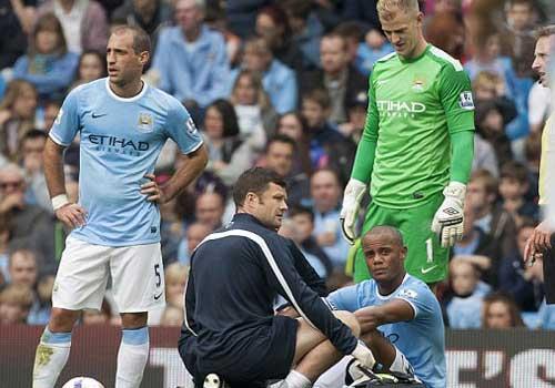 Man City: Cơn đau đầu hàng thủ - 1