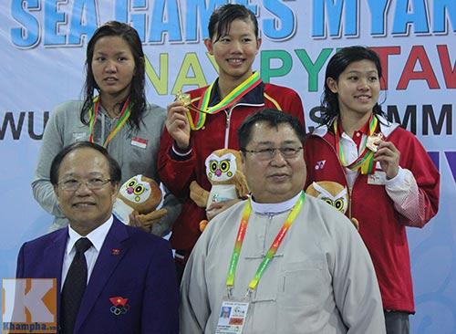 Nhiều VĐV được thưởng lớn sau SEA Games - 1