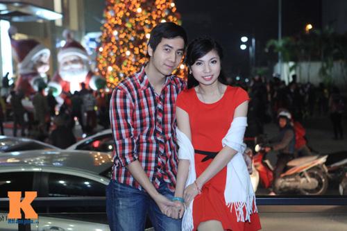 Thiếu nữ Hà thành xinh tươi trên phố Noel - 12