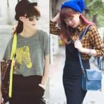 Thời trang - Xuống phố phong cách như bạn thân Chi Pu
