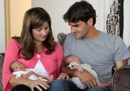Federer có tin vui đặc biệt ngày Giáng sinh - 1