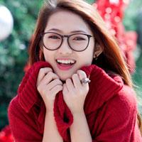 Thiếu nữ Hà thành xinh tươi trên phố Noel - 16