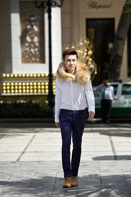 Cách ăn mặc của chàng công sở điệu đà - 9