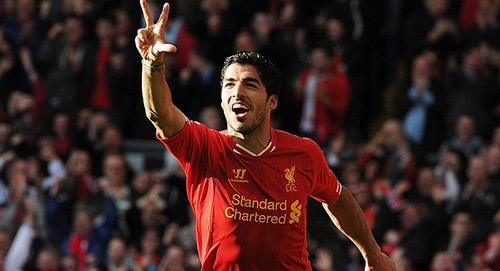 """Chân sút hay nhất NHA 2013: Suarez """"độc hành"""" - 1"""