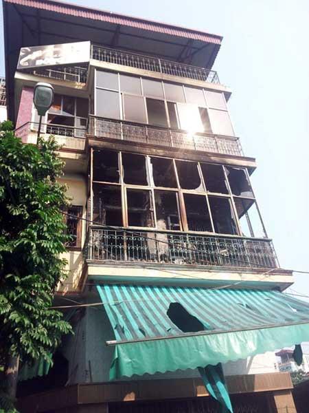 Hà Nội: Cháy nhà, một phụ nữ tử vong - 1