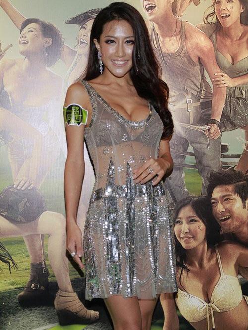 Người đẹp Trung Quốc mặc trang phục phản cảm - 6