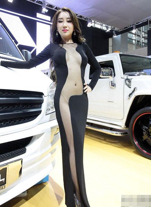 Người đẹp Trung Quốc mặc trang phục phản cảm - 7