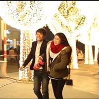 """Chuyện tình đẹp """"Noel hạnh phúc với 100k"""""""