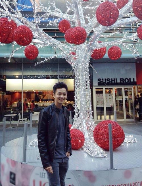 Ngô Kiến Huy đón Giáng Sinh tại Úc - 1