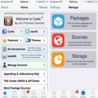 Ứng dụng Cydia cho iOS jailbreak có bản cập nhật
