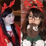 Bạn trẻ - Cuộc sống - Thiếu nữ Hà thành xinh tươi trên phố Noel