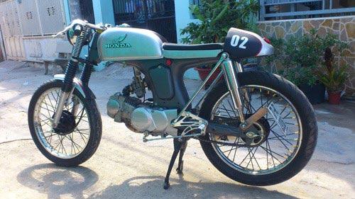 5 mẫu xe độ cafe racer độc đáo tại Việt Nam năm 2013 - 2