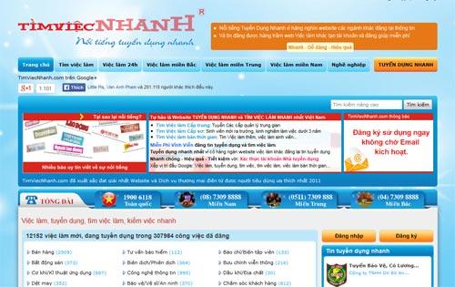 Website timviecnhanh.com nhận cú đúp giải thưởng - 3