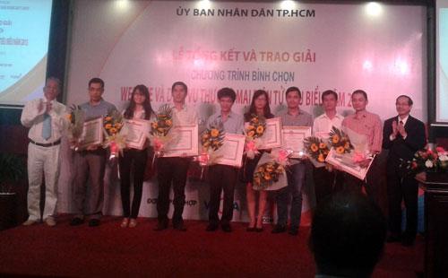 Website timviecnhanh.com nhận cú đúp giải thưởng - 1