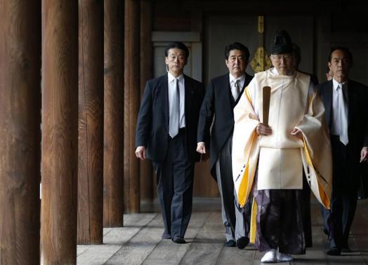 Thủ tướng Nhật thăm đền chiến tranh, TQ nổi giận - 2