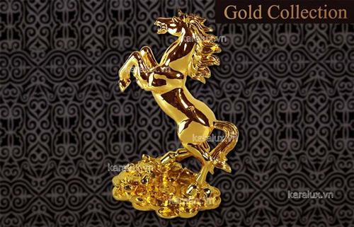 Lựa chọn Ngựa phong thủy mạ vàng chuẩn 24K đón tết Giáp Ngọ - 4