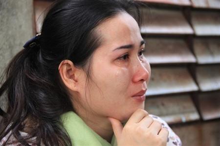 Nỗi đau trong đám tang cô gái bị thiêu sống - 4